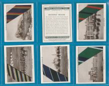 Collectable Tobacco cigarette cards Well-known Ties 1935 set of 12